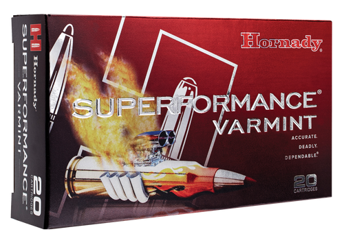 Hornady 204 Ruger Ammunition Superformance Varmint 83209 24 Grain NTX Ballistic Tip 20 Rounds