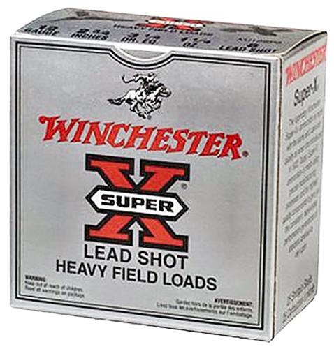"Winchester 12 Gauge Ammunition Super-X Game & Field XU12SP7 2-3/4"" 7-1/2 Shot 1-1/4oz 1220fps 25 Rounds"