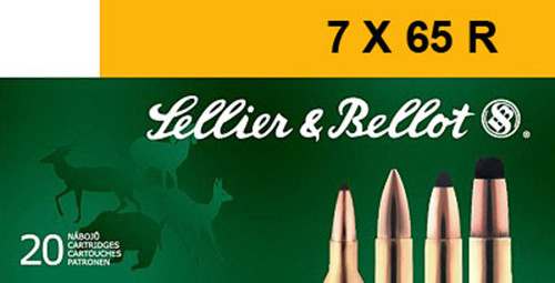 Sellier & Bellot 7x65R Ammunition Hunting SB765RA 173 Grain SPCE 20 Rounds