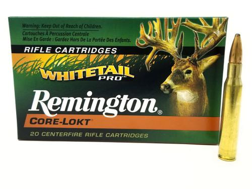 Remington 30-06 Ammunition Whitetail Pro WP30062 150 Grain Core-Lokt Pointed Soft Point 20 Rounds