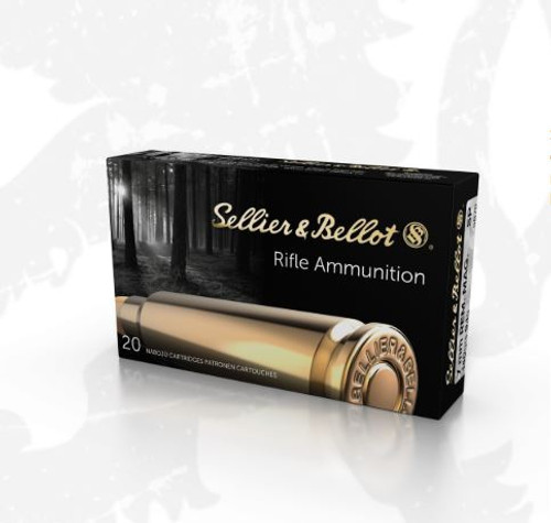 Sellier & Bellot 7mm Rem Mag Ammunition SB7B 140 Grain Soft Point 20 Round