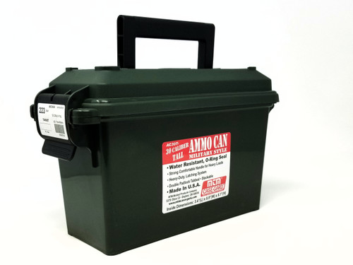 Precision One 223 Rem Ammunition *Reman* 55 Grain *Seconds* Full Metal Jacket Ammo Can of 500 Rounds