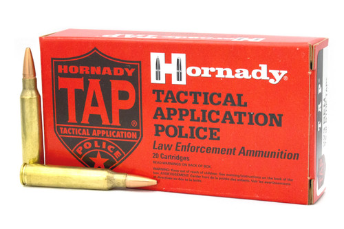 Hornady 223 Rem Ammunition TAP 80265 75 Grain Hollow Point Boat Tail 20 Rounds