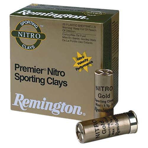 "Remington 12 Gauge Ammunition Shot-To-Shot STS12NSC17 2-3/4"" 7-1/2 Shot 1oz 1350fps Case of 250 Rounds"