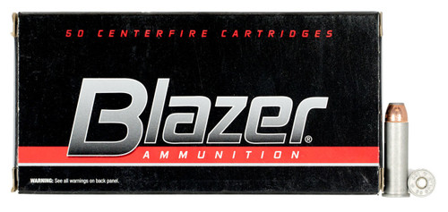 CCI 38 Special +P Ammunition Blazer 3514 125 Grain Jacketed Hollow Point 50 Rounds