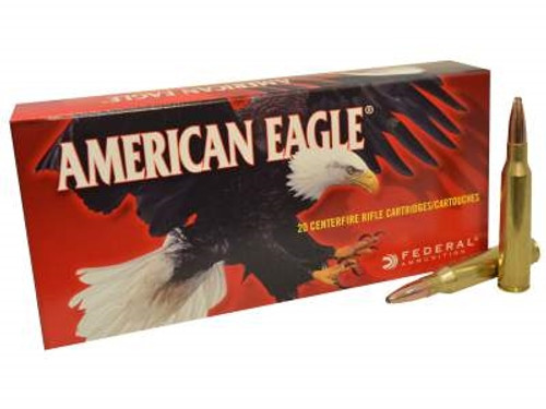 Federal 338 Lapua Mag Ammunition American Eagle AE338L 250 Grain Jacketed Soft Point Case of 200 Rounds