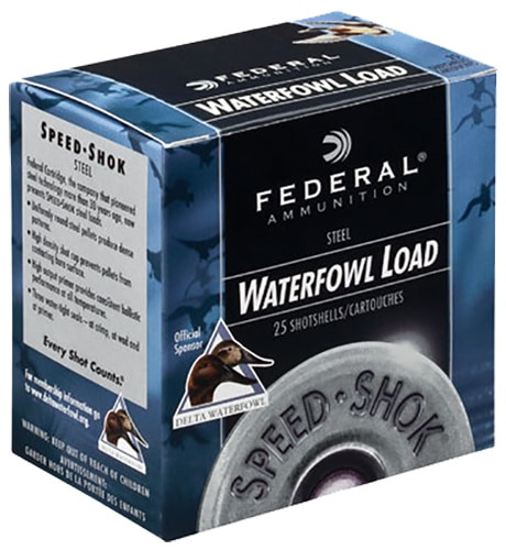 "Federal 10 Gauge Ammunition Speed-Shok WF107T 3-1/2"" T-Shot 1-1/2oz 1450fps 25 Rounds"