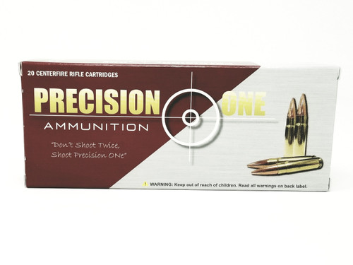 Precision One 300 AAC Blackout Ammunition *Reman* 155 Grain Copper Plated Full Metal Jacket 20 Rounds