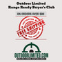 Outdoor Limited Range Ready Buyer's Club!  Free shipping on orders over $99