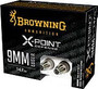 Browning 9mm Luger Ammunition B191700092 147 Grain X-Point Defense Hollow Point 20 Rounds