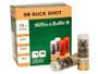 """Sellier & Bellot 12 Gauge Ammunition SB12BSG 2-3/4"""" 00 Buckshot 9 Pellets 25 rounds"""