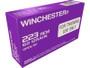 Winchester 223 Remington Ammunition Q3340 62 Grain Open Tip Purple Tinted Brass CASE 1,000 rounds