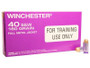 Winchester 40 S&W Q4409 LE Training Ammunition Purple Tinted Brass 180 gr FMJ CASE 500 rounds