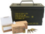 GGG 5.56x45mm NATO Ammunition M855 SS109 62 Grain FMJ Penetrator Steel Core Ammo Can 1000 rounds