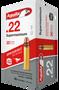 Aguila 22LR Ammunition Super Maximum 1B222298 30 Grain Hyper Velocity Copper Plated Round Nose 50 rounds