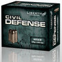 Liberty 40 S&W Ammunition Civil Defense LACD40012 60 Grain Hollow Point Fragmenting 20 rounds