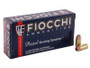 Fiocchi 380 Auto Ammunition FI380APHP 90 Grain Jacketed Hollow Point 50 rounds