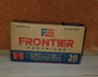 Hornady 5.56 NATO Frontier HFR240 55 gr HP 20 rounds