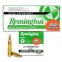 Remington 223 Rem Ammunition Value Pack L223R8B 50 Grain Jacketed Hollow Point 40 rounds