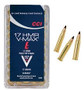 CCI 17 HMR Ammunition 0049 17 Grain V-Max 50 Rounds