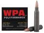 Wolf 223 Rem WPA Polyformance 62 gr FMJ Steel CASE 500 rounds