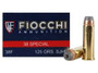 Fiocchi 38 Special Shooting Dynamics Ammunition FI38F 125 Grain Semi-Jacketed Hollow Point 50 Rounds
