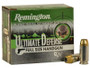Remington 40 S&W Ammunition Ultimate Defense HD40SWBN 180 Grain Bonded Jacketed Hollow Point 20 rounds