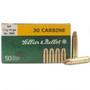 Sellier & Bellot 30 Carbine Ammunition 110 Grain Soft Point SB30B 50 rounds