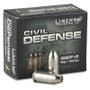 Liberty Ammo 45 ACP Ammunition Civil Defense LACD45013 78 gr HP Fragmenting 20 rounds
