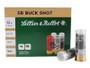 Seller & Bellot 12 Gauge Ammunition SB12BSH 2-3/4'' 4 Buck 21 Pellets 1185fps 250 Rounds