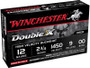"Winchester 12 Gauge Ammunition Double X SB1200 2-3/4"" 00 Buck 9 Pellets 1450fps 5 rounds"
