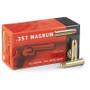 Geco 357 Magnum AMMUNITION GE272040050CASE 158 Grain Full Metal Jacket 1000 rounds