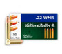 Sellier & Bellot 22 Magnum Ammunition 45 Grain Copper Plated Round Nose 50 rounds
