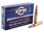 Prvi PPU 30-06 Springfield Ammunition PP341 150 Grain Soft Point 20 Rounds