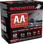 """Winchester 12 Gauge AA Ammunition Light TrAAcker Black AA129TB 2-3/4"""" 1-1/8oz #9 Shot 1145fps 250 rounds"""