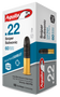 Aguila 22LR Ammunition Sniper SubSonic 60 Grain Lead Round Nose 50 rounds