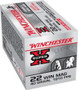 Winchester 22 WMR Ammunition Super-X X22MH 40 Grain Jacketed Hollow Point 50 Rounds