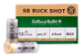 "Sellier & Bellot 12 Gauge Ammunition SB12BSB 2-3/4"" 4 Buck 1-1/4oz 1190fps 250 Rounds"