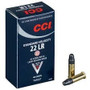 CCI 22LR Ammunition 0035 40 Grain 1070fps Standard Velocity Case of 5000 Rounds