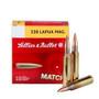 Sellier & Bellot 338 Lapua Mag Ammunition SB338LMB 300 Grain Match Sierra MatchKing Hollow Point 10 Rounds