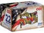 CCI 22LR Ammunition CCI921RWB 40 Grain Red, White, and Blue Coated Lead Round Nose 300 Rounds