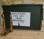 Federal 50 BMG Ammunition XM33 690 Grain Full Metal Jacket Tracers Ammo Can of 100 Rounds
