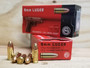 GECO 9mm Ammunition 220240050 115 Grain Full Metal Jacket 50 Rounds