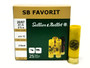 "Sellier & Bellot 20 Gauge Ammunition SB20BSA 2-5/8"" 2 Buck 12 Pellets 25 Rounds"