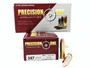 Precision One 357 Mag Ammunition 125 Grain Full Metal Jacket 50 Rounds