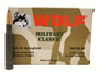 Wolf 30-06 Ammunition Military Classic 168 Grain Soft Point Steel Case 20 Rounds