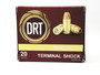 DRT 380 ACP Ammunition Terminal Shock 85 Grain Jacketed Hollow Point 923fps 20 Rounds
