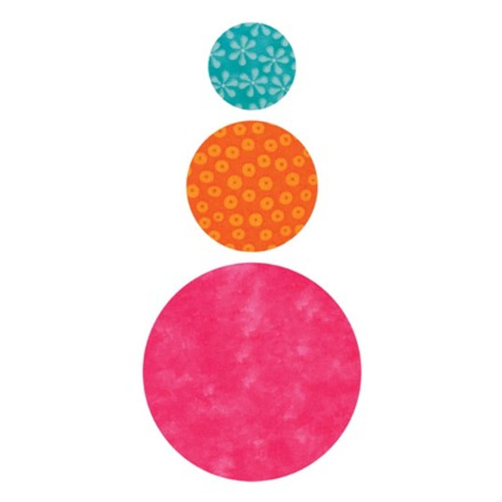 "55012 - AccuQuilt Die -  Circle 2"", 3"", 5"""