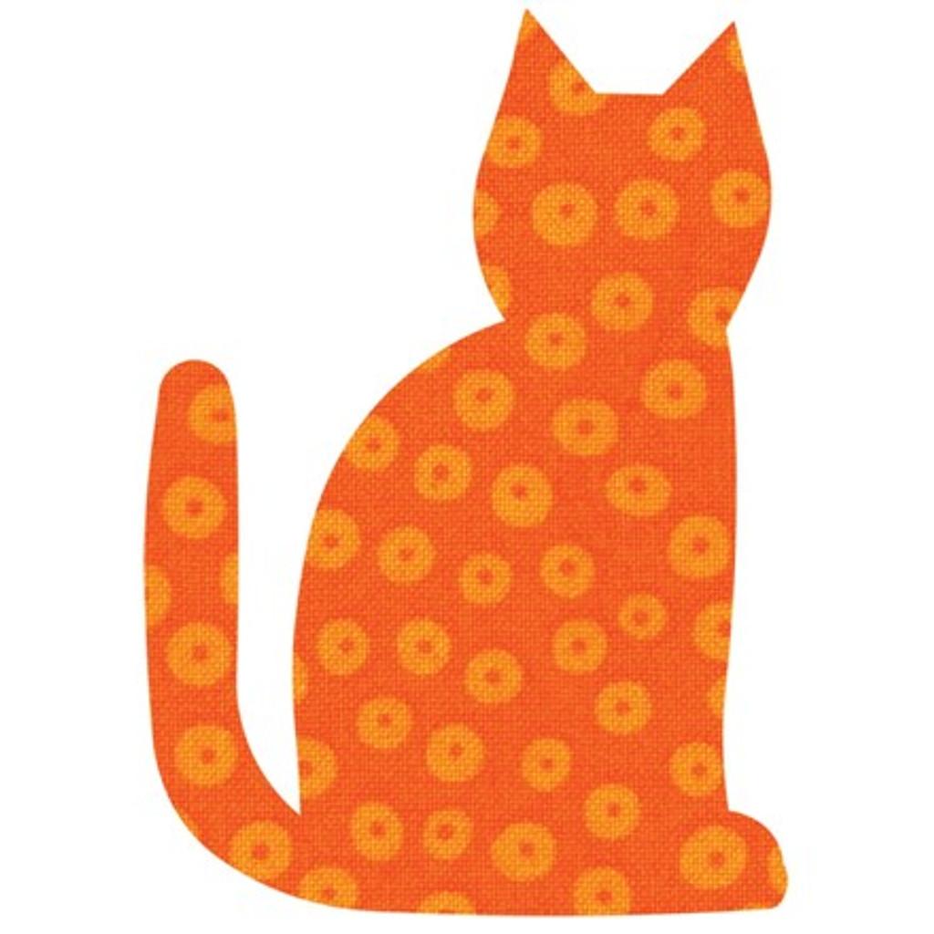 55065 - AccuQuilt Die -  Calico Cat