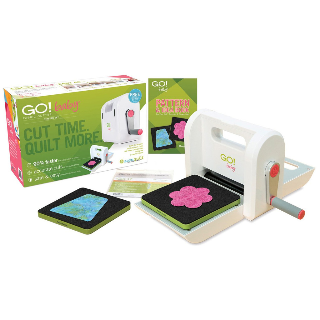 55600 - GO! BABY - Fabric Cutter Starter Set